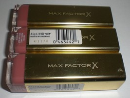Max Factor Color Colour Elixir Lipstick Makeup #725 Simply Nude (Lot Set of 3) - $15.67
