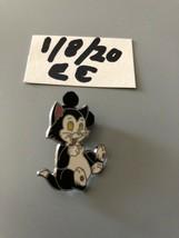 Pinocchio Cat Figaro Black And White Pin - $16.82