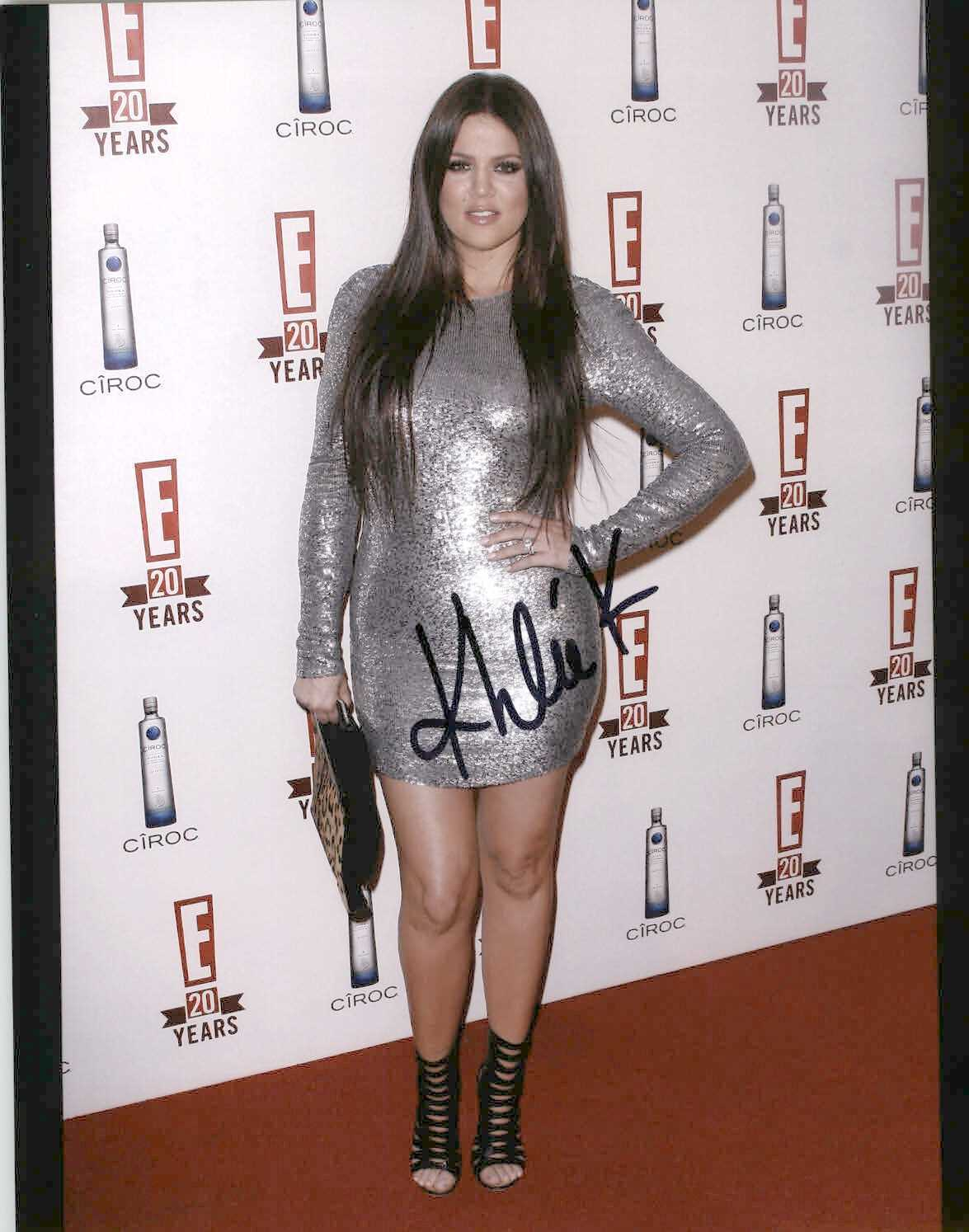 Primary image for Khloe Kardashian Signed Autographed Glossy 8x10 Photo