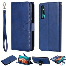 K37) Leather wallet FLIP MAGNETIC BACK cover Case For Huawei honor model - $52.02