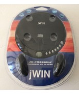 JWIN JX-CD335BLK Black Personal CD Player Compact Disc - Brand NEW Seale... - $59.49