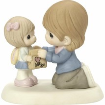 Mom Giving Girl Lunch Precious Moments Figurine My Heart Goes With You NWOB - $55.43
