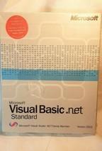 Microsoft Visual Basic.NET 2003 Standard Edition Complete New Sealed Box - $57.50