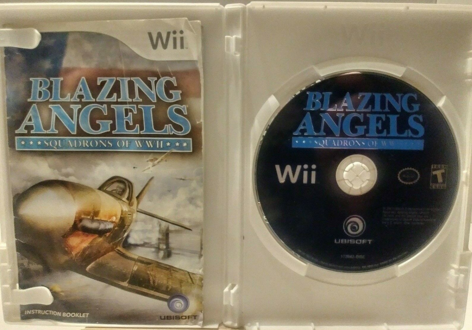 Blazing Angels  Squadrons of WWII Nintendo Wii  2007 T Teen image 2