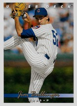 1993 Upper Deck Baseball Card, #379, Jim Bullinger, Chicago Cubs - $0.99
