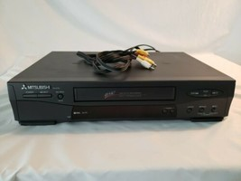 Mitsubishi HS-U746 S-VHS Player VCR with cable - TESTED WORKING - $112.20