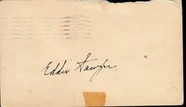 EDDIE SAWYER Autograph on 1951 GPC- Phillies manager 1950 - $7.92