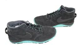 Nike X Stussy Hombre Talla 9.5 ante Completo con Cordones Chukkas Zapatos Negro - $56.11