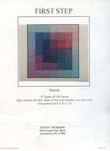 First Step Genny Morrow Beginner Needlepoint Pattern Booklet - $8.97