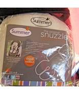 Summer Infant Original Snuzzler Infant Head and Body Support White Black... - $13.85