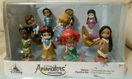 Disney Animators' Collection Deluxe Figurine Set, mini princesses, 10 co... - $28.00