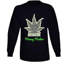 Money Maker 420 Canna Long Sleeve T Shirt image 1