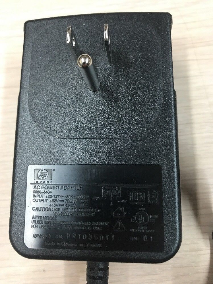 HP 0950-4404 AC Power Supply Adapter HP Printer Power Cable Supply          H9