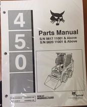 Bobcat 450 Series Skid Steer Parts Catalog Manual - Part Number # 6724364 - $53.00