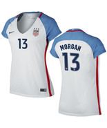 Uswnt alex morgan womens authentic 2016 2017 stadium 13 white home soccer jersey thumbtall