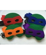 Teenage Mutant Ninja Turtles Masks Green Favors Party TMNT - $2.50