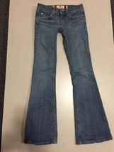 Juicy Couture Jeans Girls Size 24 Distressed Boot Cut - $31.68