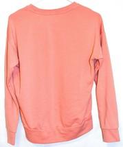 Adidas Athletics Women's Peach Pink Pullover Sweatshirt Size S A2B010 image 2