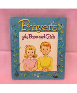Vintage Prayers for Boys and Girls children's book Whitman Tell-A-Tale 1953 - $5.00