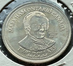 1994 Markham Ontario Dollar $2 Trade Token - Board of Trade Coin - $2.30