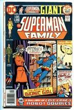 SUPERMAN FAMILY #178comic book-BIONIC LOIS LANE - $18.92