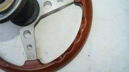 1977 Mercedes W123 R107 W107 Grant Wood Steering + Hub image 10