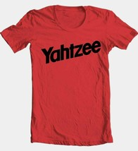 Yahtzee T-shirt retro vintage 1980s classic board game 100% cotton red tee image 2
