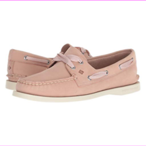 Sperry Top-Sider Women's A/O Satin Lace Lace-Up Boat Shoes Rose - $34.76+