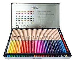 DE ART Aqua Relle Pencils Watercolor Pencils 72 colors