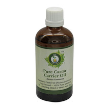 R V Essential Pure Castor Oil Ricinus Communis Cold Pressed For Hair Growth - $6.97+