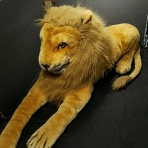 Melissa & Doug Lion Giant Stuffed Animal Wildlife Large Realistic Huge 6 feet L - $128.69