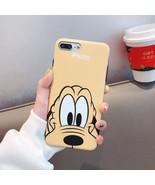 Cute Funny Goofy Pluto Cartoon iPhone Case XR X XS Max 6 6S 7 8 Plus Kawaii - $4.99