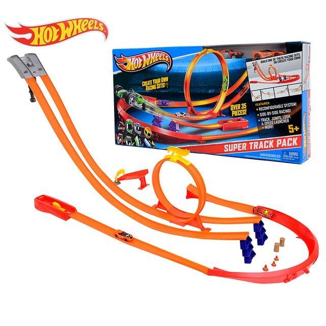 Classic Educational Toys : Hot wheels track model cars toys for boys hotwheel
