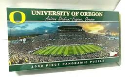University Of Oregon Ducks 1000 Piece Panoramic Puzzle Autzen Stadium SEALED - $37.57
