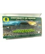 University Of Oregon Ducks 1000 Piece Panoramic Puzzle Autzen Stadium SE... - $37.57