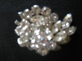 Marked EISENBERG brooch with shiny rhinestones - $29.70