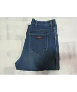 Wrangler 16 Avg Womens Blue Denim Jeans 1970s Vintage Made In USA Mom 30... - $34.99