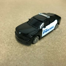 Black White Metro Police 2006 Dodge Charger Maisto Loose Diecast Car JO - $5.45