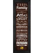 "Rowan University ""Profs"" 24 x 8 Family Cheer Framed Print - $39.95"
