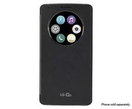LG Quck Circle Case for LG G3 - Retail Packaging - Titanium Black - $18.99