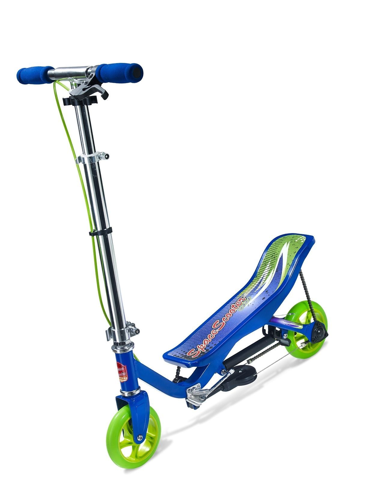 SpaceScooter Junior Ride On, Blue