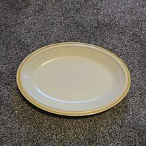 "Hearthside Garden Festival Prairie Flowers Stoneware Yellow 12.5"" Oval Platter - $19.99"