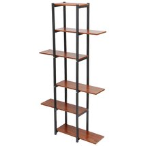 6 Tiers Wooden Bookshelf Plant Flower Stand Storage Rack Home Office Decorations - $288.51