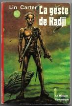 Lin Carter The Quest of Kadji (La Geste de Kadji) French Fantasy Book 1976 - $5.99