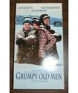 Grumpy Old Men VHS 1993 Warner Jack Lemon Walter Matthau Anne Margret - $0.99