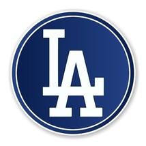 Los Angeles Dodgers Round Decal / Sticker Die cut - $3.46+