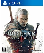 PlayStation PS4 The Witcher 3 Wild Hunt From Japan Japanese Game  - $44.54