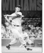 Ted Williams Baseball Quote Tin Metal Sign - $18.81