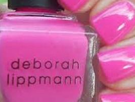 Deborah Lippmann Nail Lacquer Nail Polish in Whip It (Creamy Punch Pink)! - $6.58