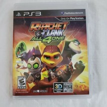 Ratchet & Clank: All 4 One (Sony PlayStation 3, 2011) - $11.30